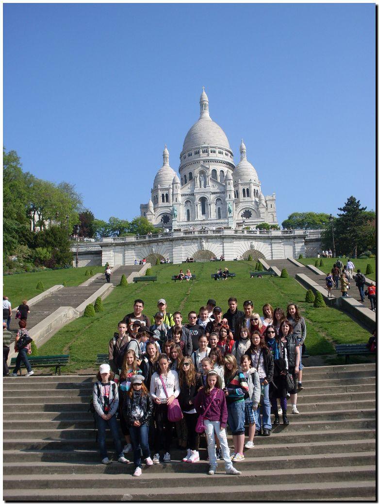Poznávací zájazd - paríž